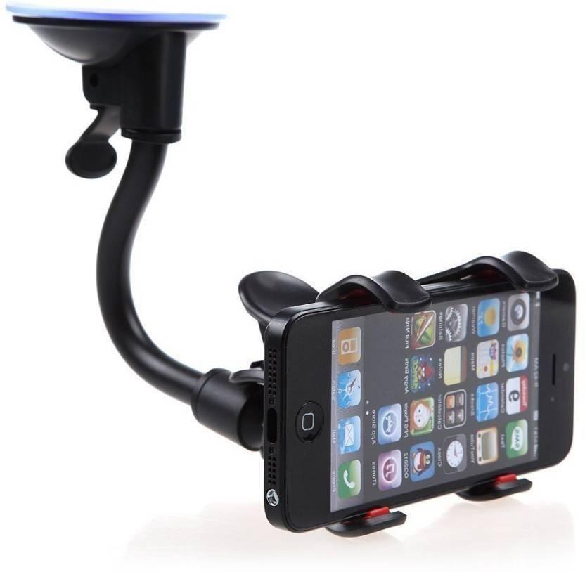 Blue Birds Universal Long Lazy Bed Desktop Car Stand Mount for Cell Phone Car Mobile Holder Mobile Holder