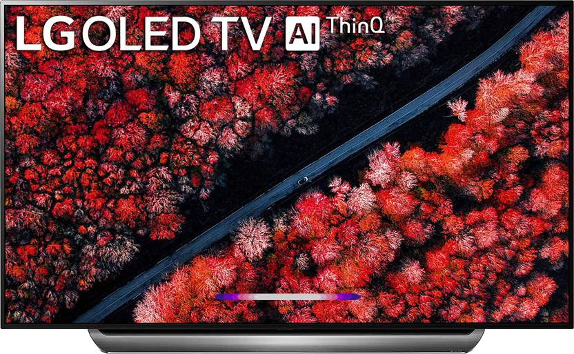 LG 195cm (77 inch) Ultra HD (4K) OLED Smart TV 2019 Edition(OLED77C9PTA)