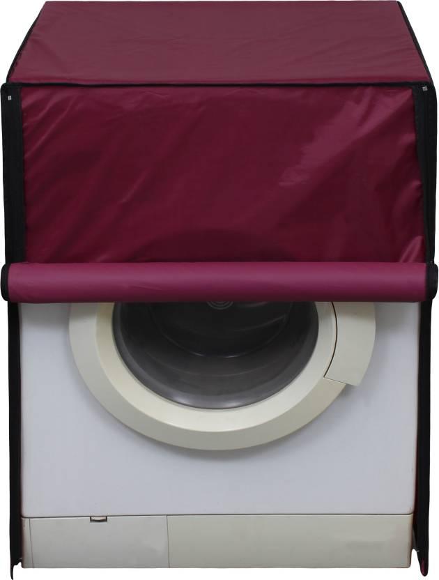Glassiano Front Loading Washing Machine  Cover Maroon