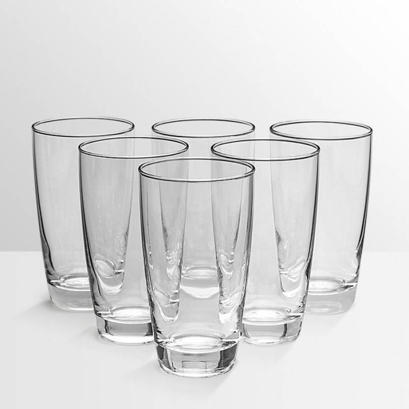 Ocean  Pack of 6  Tiara Tumbler   Set of 6   355ml Glass Set 355 ml, Glass