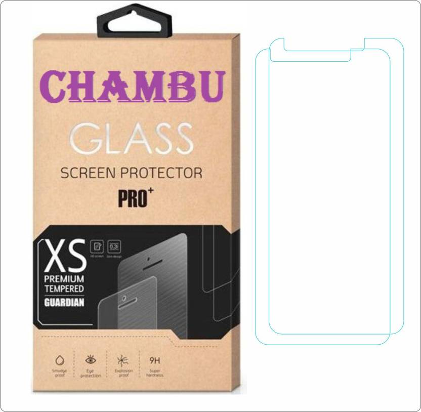 CHAMBU Tempered Glass Guard for LG L Bello D335 Pack of 2