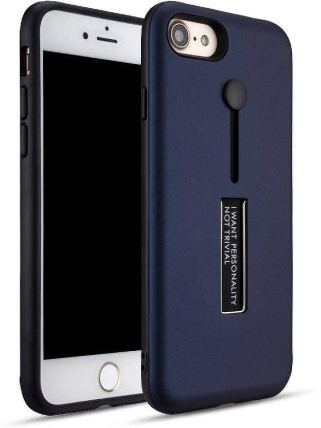Binzokase Back Cover for Apple iPhone 5s Blue, Rugged Armor