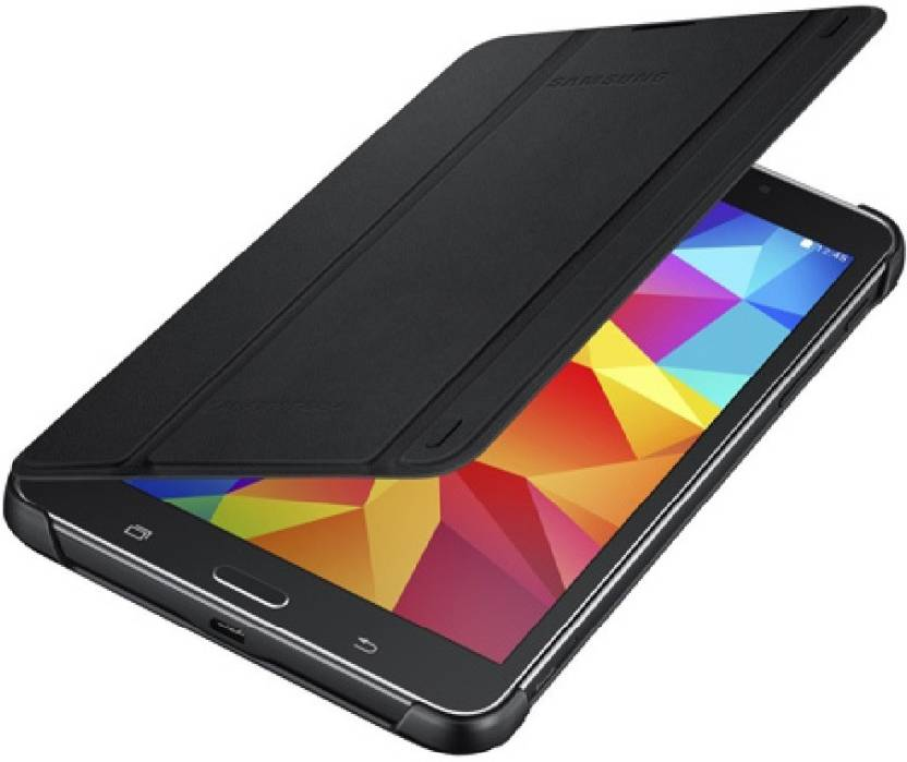 Realtech Flip Cover for Samsung Galaxy Tab 4 7.0 T230/T231 Black, Dual Protection