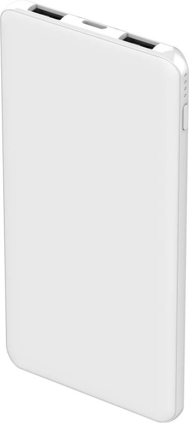 Smartplay 5000 mAh Power Bank White, Lithium Polymer