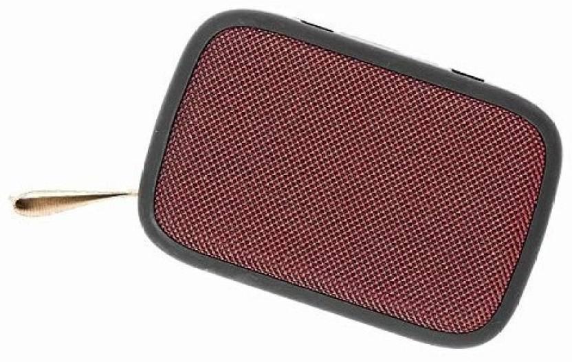 Buy Genuine G2 Portable HD Stereo Wireless 5 W Bluetooth Laptop/Desktop Speaker Red, Stereo Channel