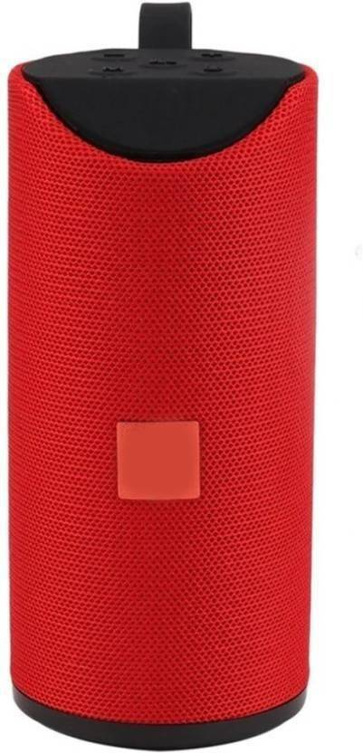 Buy Genuine Portable Mini TG 113 Wireless Home Audio With SD card Slot 15 W Bluetooth Speaker Red, Stereo Channel