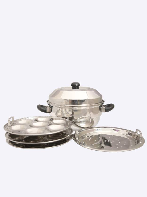 Spiti Elite 21 idly Pot Induction   Standard Idli Maker 4 Plates , 21 Idlis