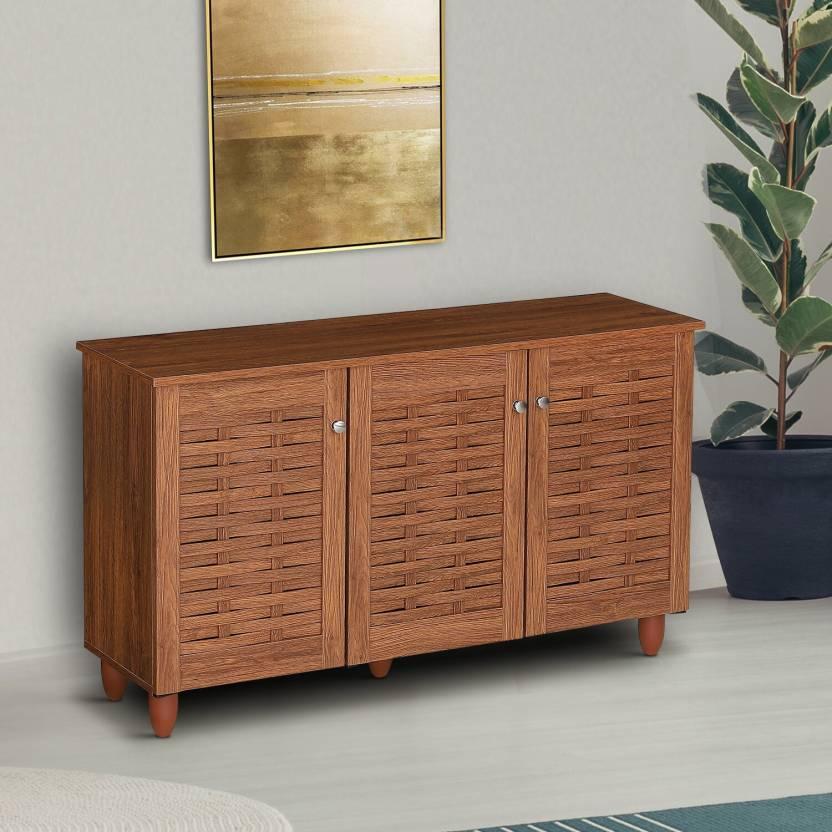 Woodness Engineered Wood Shoe Rack 6 Shelves