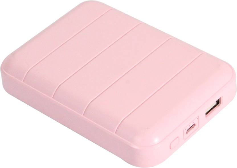 Minum 10400 mAh Power Bank Pink, Lithium ion