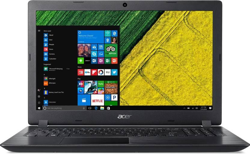 Acer Aspire 3 APU Dual Core A9 - (4 GB/1 TB HDD/Windows 10 Home) A315-21 Laptop(15.6 inch, Obsidian Black, 2.10 kg)