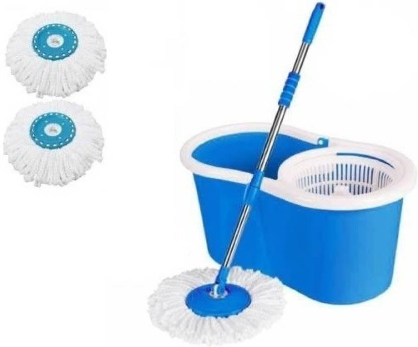 Gadget Tree Bucket Mop   360 Degree Self Spin Wringing Mop