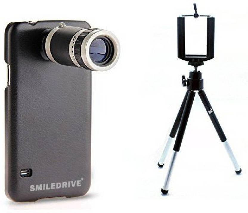 Smiledrive SAMSUNG S7 TELESCOPE 8X ZOOM LENS KIT WITH BACK MOBILE CASE/COVER   FREE UNIVERSAL SMART PHONE TRIPOD Mobile Phone Lens
