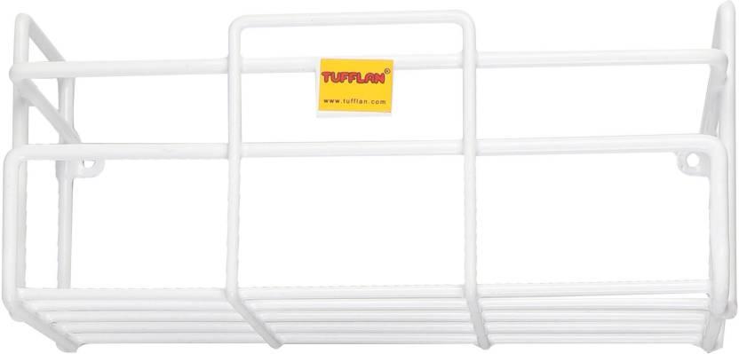 TUFFLAN Stainless Steel Wall Shelf Number of Shelves   1, White