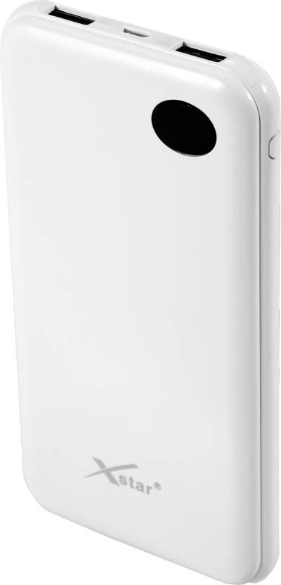 xstar 12000 mAh Power Bank White, Lithium Polymer