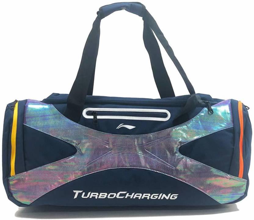 Li Ning Badminton Kit Bag   Navy Blue, Kit Bag