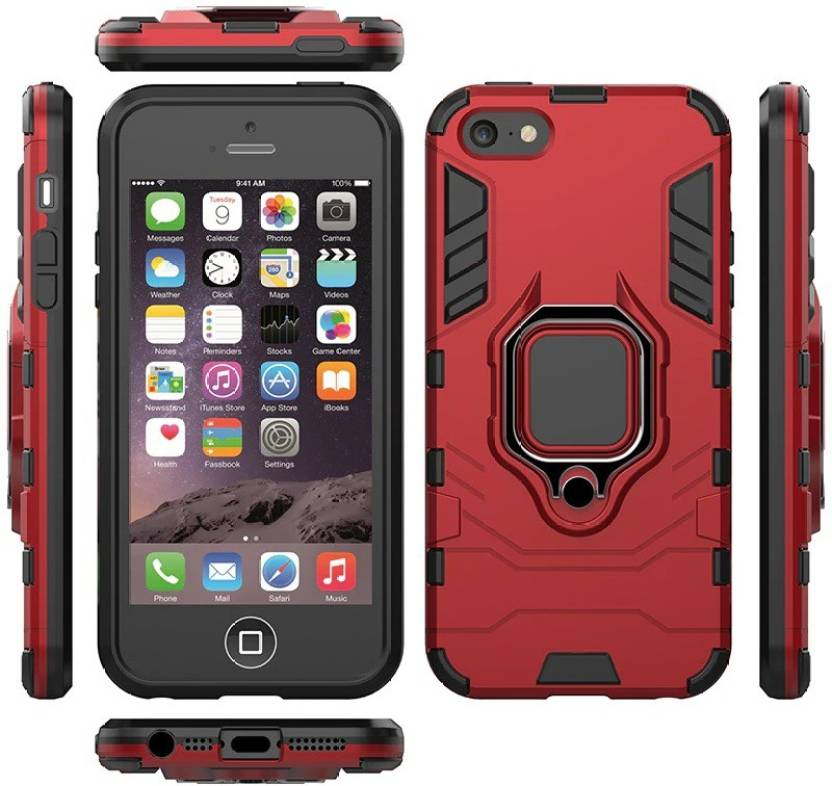 Sosh Back Cover for Apple iPhone 6s Red, Rugged Armor