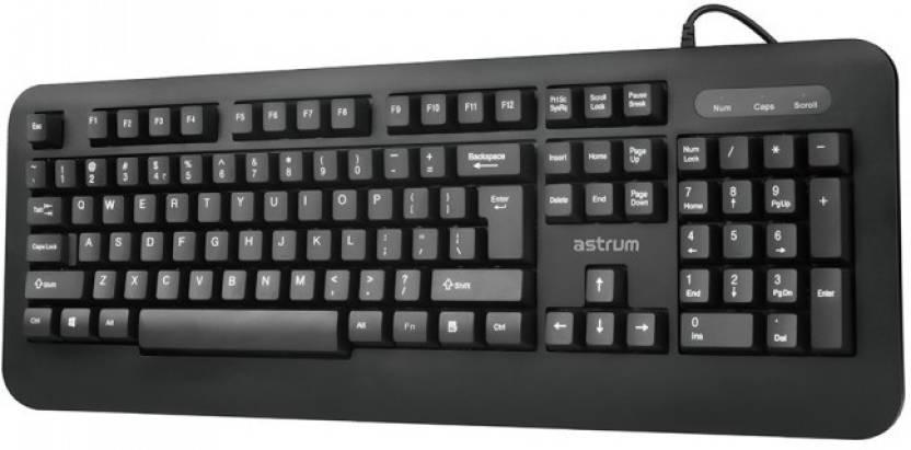 astrum KB100 Wired USB, Internal Desktop Keyboard Black