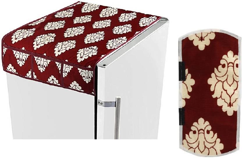 E Retailer Refrigerator Cover Maroon