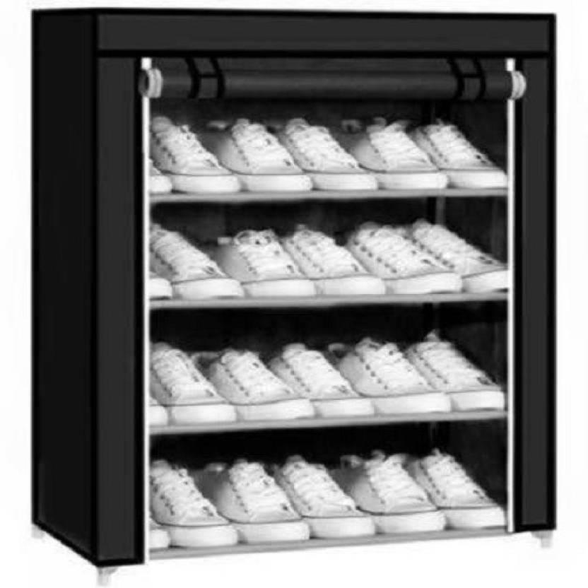rack home Plastic Shoe Rack 4 Shelves