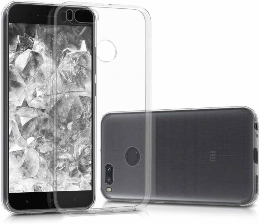 Flipkart Smartbuy Back Cover for Mi A1 Transparent, Silicon