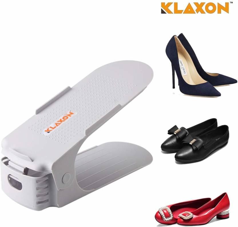 Klaxon Plastic Shoe Stand 1 Shelves
