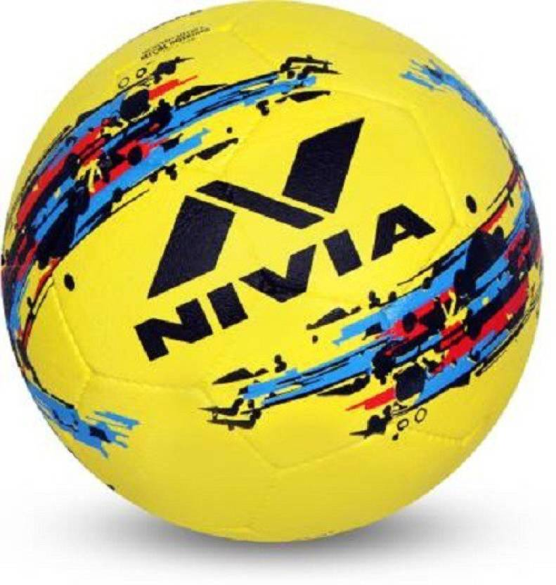 Nivia N Strom Football   Size: 5 Pack of 1, Yellow