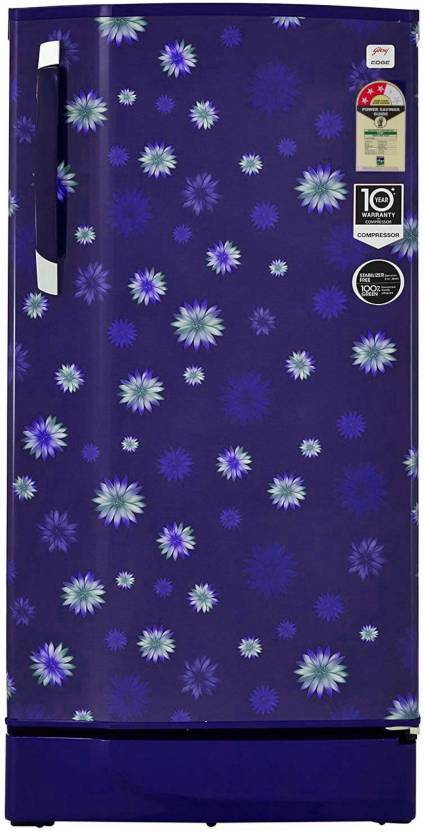 Godrej 200 L Direct Cool Single Door 3 Star  2019  Refrigerator STAR BLUE, RD EDGE 215 TAF 3.2