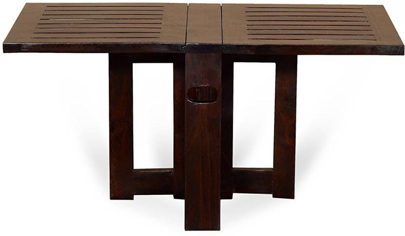 The Attic Solid Wood Coffee Table Finish Color   Walnut
