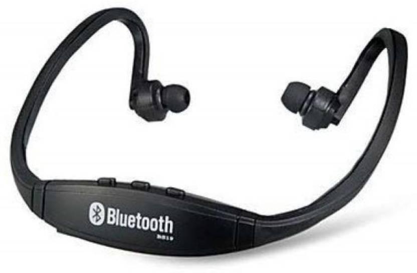 Sketchfab BS19 Bluetooth Headset Black, True Wireless