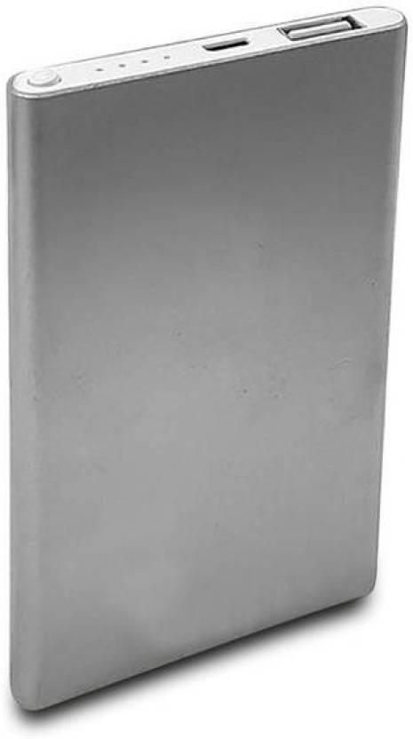 Sketchfab 5000 mAh Power Bank Silver, Lithium Polymer