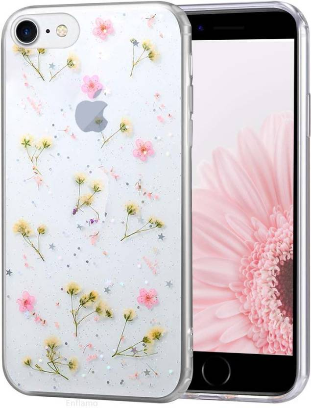 Enflamo Back Cover for Apple iPhone 7, Apple iPhone 8 Pink