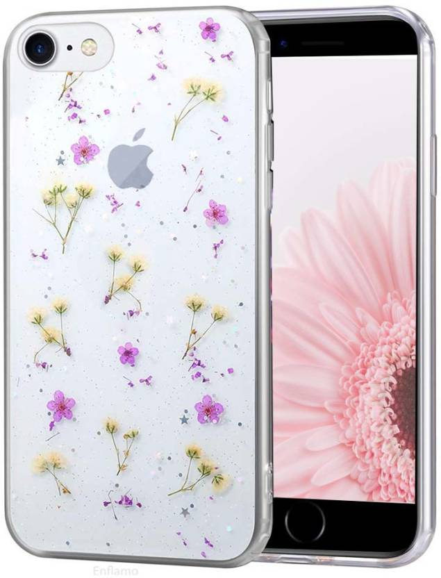 Enflamo Back Cover for Apple iPhone 7, Apple iPhone 8 Purple Enflamo Designer Cases   Covers
