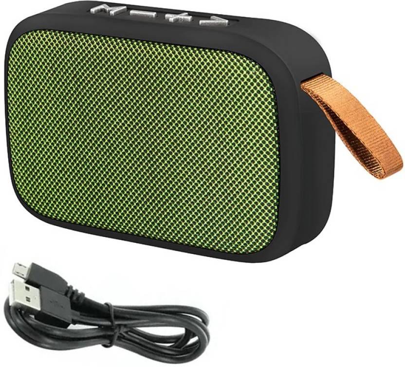 LIFEMUSIC Wireless Portable Multimedia MG2 Mobile/Tablet Speaker 4 W Bluetooth Speaker Multicolor, Stereo Channel