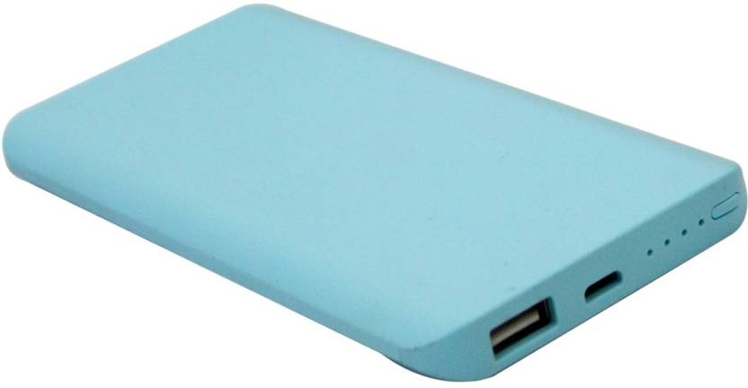 hobins 8000 mAh Power Bank Blue, Lithium Polymer