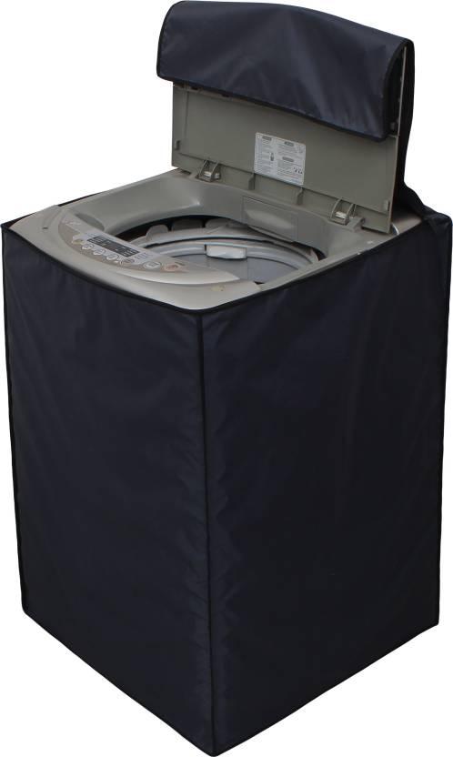 Glassiano Top Loading Washing Machine Cover Grey