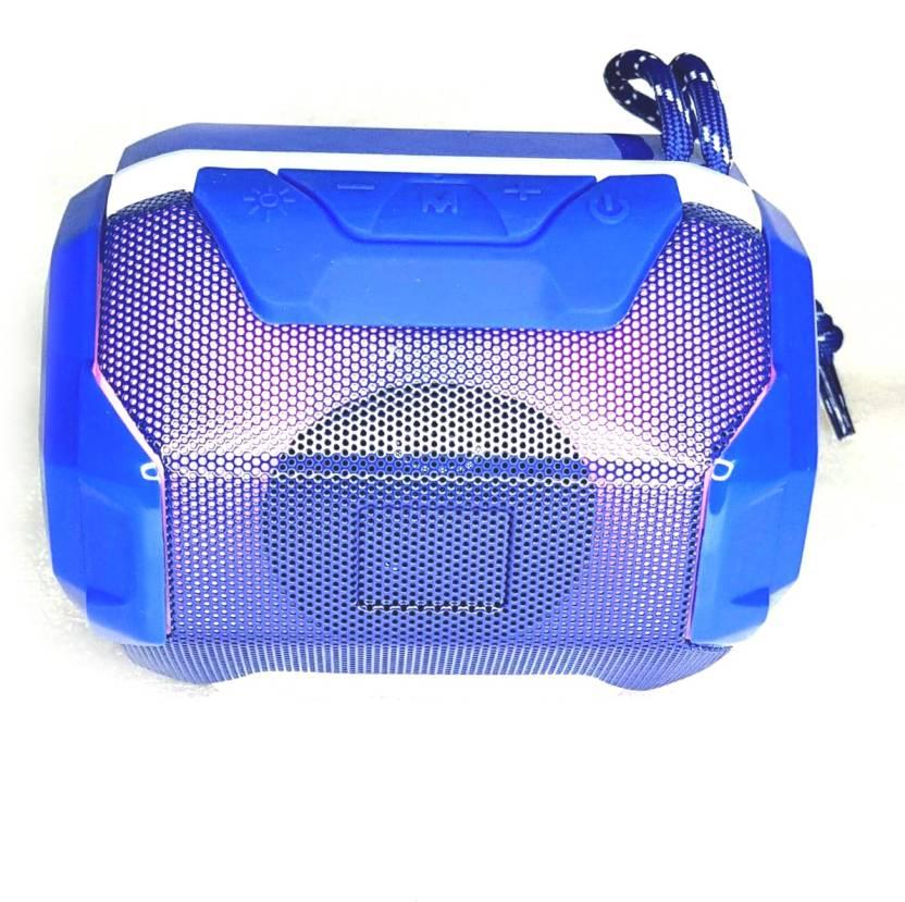 Saleshop365 Portable Wireless A005 Deep Bass 12 W Bluetooth Soundbar Blue, 2.1 Channel