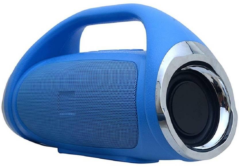 VARKAUS Boom Box Bluetooth Portable Speaker 20 W Bluetooth Home Theatre Blue, 4.1 Channel VARKAUS Speakers