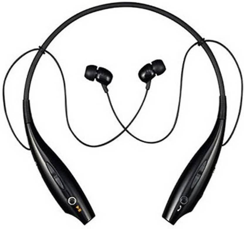 ewell HBS 730 Bluetooth Headset with Mic Premium Sound Quality  Black, In the Ear  Bluetooth Headset Black, In the Ear