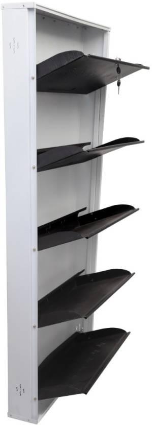HI SET Metal Shoe Rack 5 Shelves