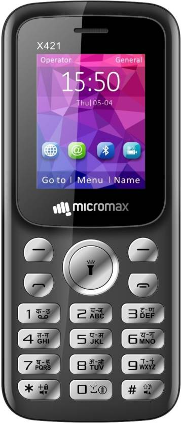 Micromax X421 Black + Red