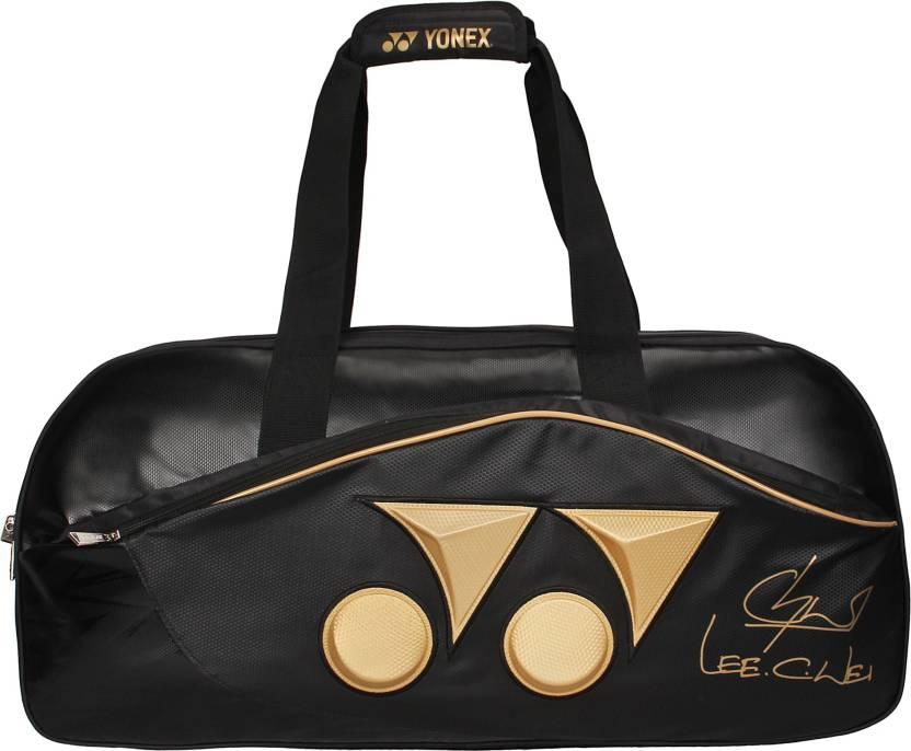 Yonex TOURNAMENT BAG MSQ13MS3 BT6 LCW EDITION  Badminton Bag Gold, Kit Bag