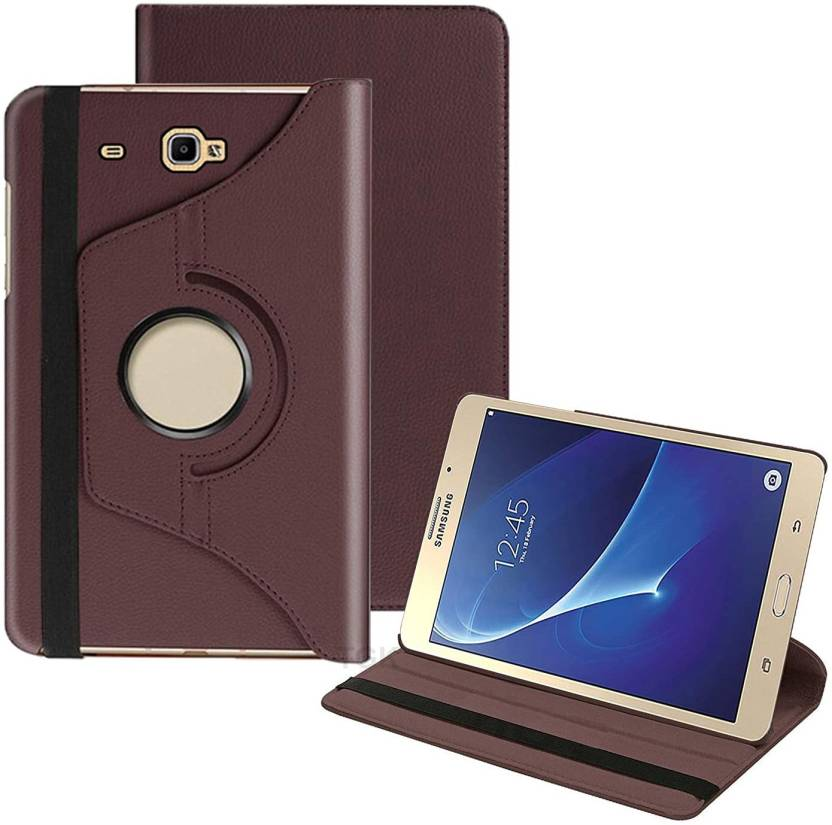 TGK Book Cover for Samsung Galaxy Tab A 7.0 inch SM T280, T285 /TAB J Max 7 inch Rotating Leather Smart Flip Case
