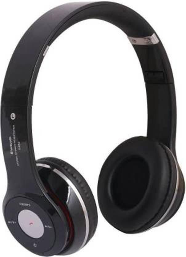 CELWARK STEREO WIRELESS FOLDABLE HEADPHONE BLACK S460 Bluetooth Headset Black, On the Ear