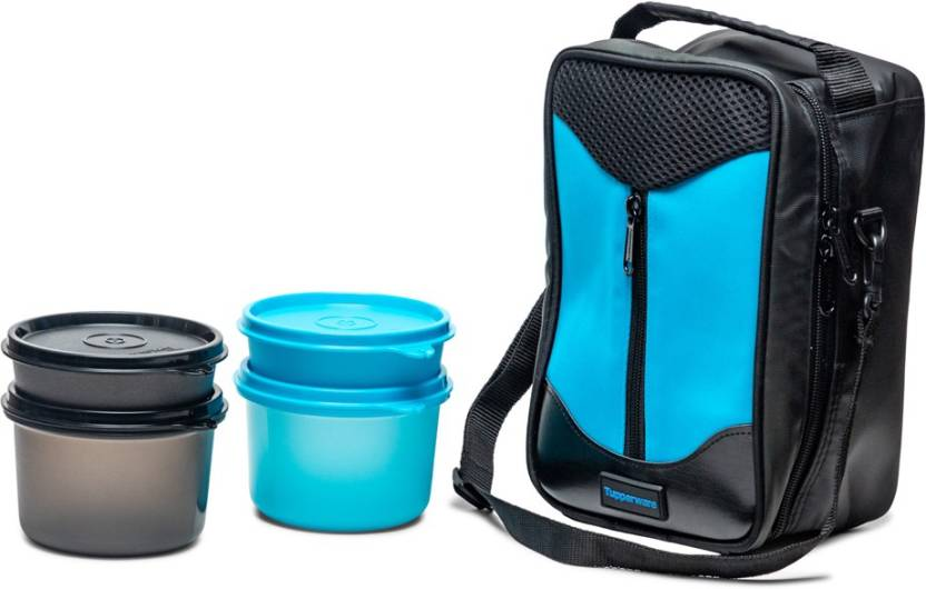 Tupperware New Executive lunch 4 Containers Lunch Box 1220 ml