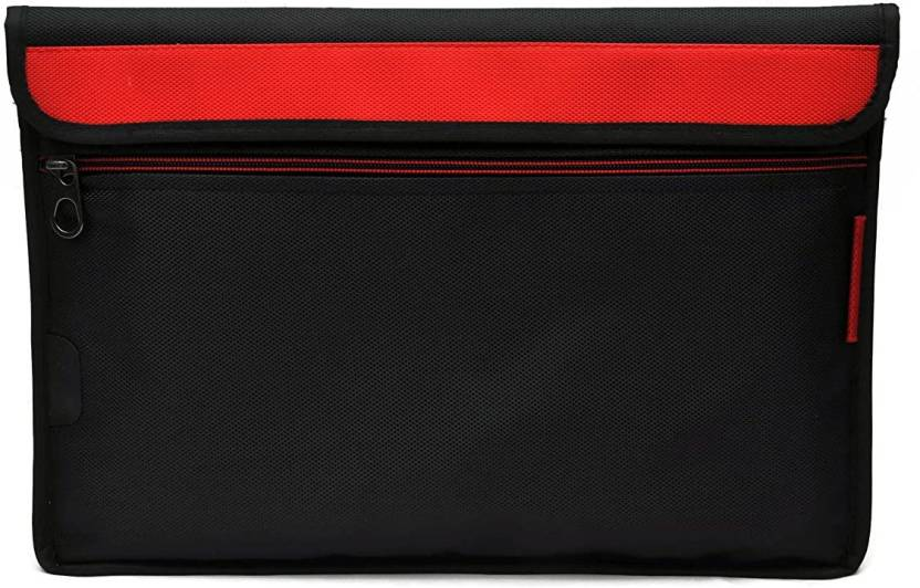 Saco Sleeve for Lenovo Thinkpad E431 Notebook   14 inch Envelope Sleeve Bag Case Cover with Shoulder Strap Red