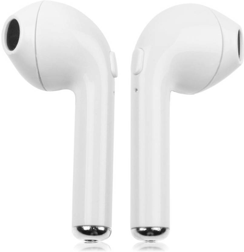 Hemrex I7 Double Headphone Bluetooth Headset White, True Wireless