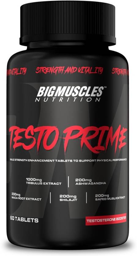 BIGMUSCLES NUTRITION Testo Prime Testosterone Booster 30 Servings Safe & Effective with