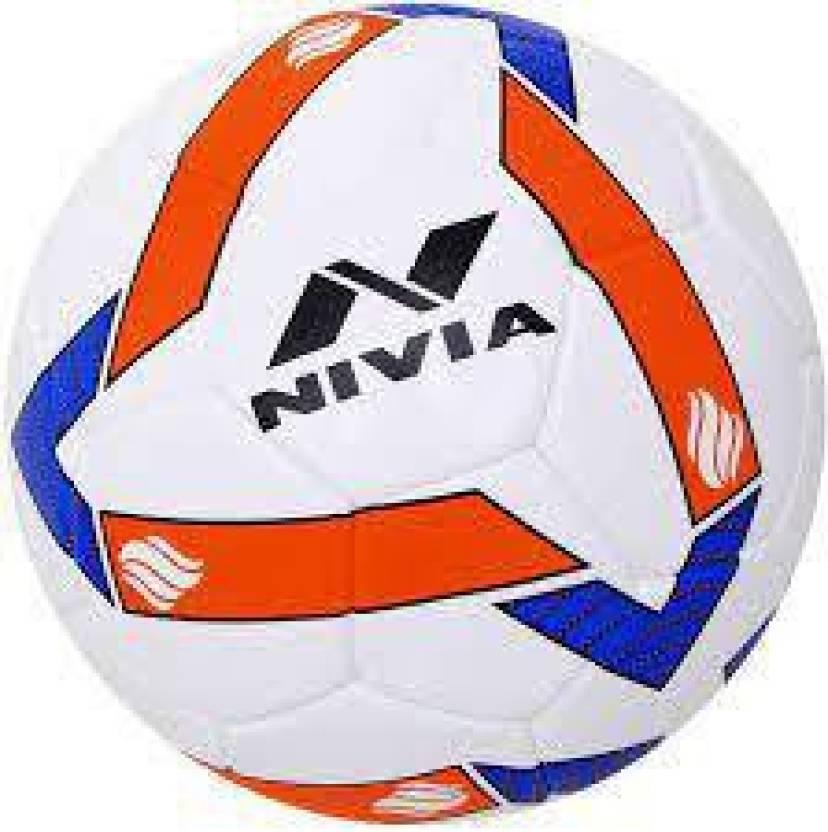 Nivia Shining Star Football   Size: 5 Pack of 1, Multicolor