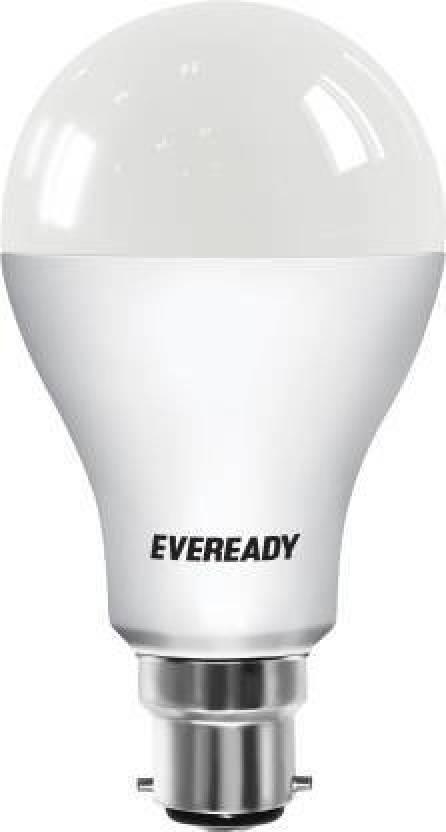Eveready 14 W Round B22 LED Bulb White