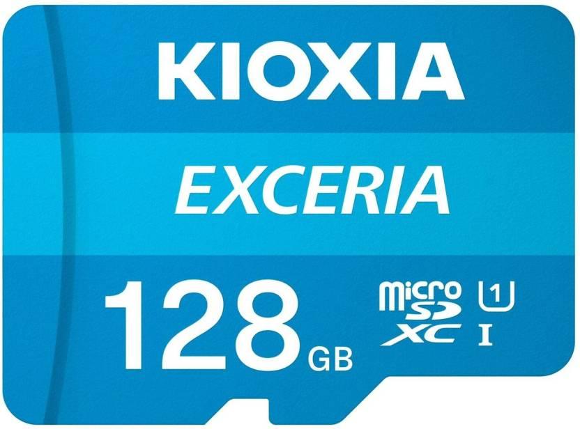 KIOXIA EXCERIA 128  GB MicroSDXC UHS Class 1 100 MB/s Memory Card